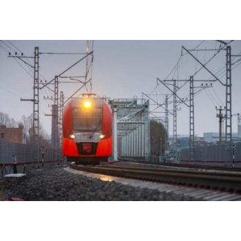 The 1st container train to Pravdinsk