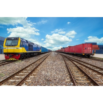The 100th container train to Monchegorsk